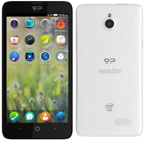 Geeksphone Revolution – «выразительный» бюджетный смартфон