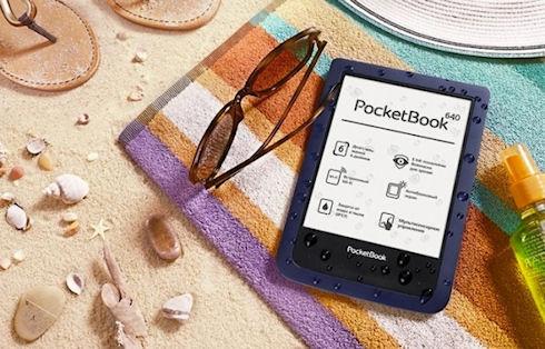 PocketBook Aqua – идеальный ридер для отпуска