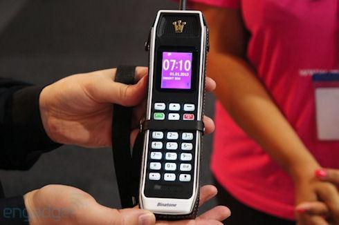 Binatone The Brick – мобильный телефон из прошлого