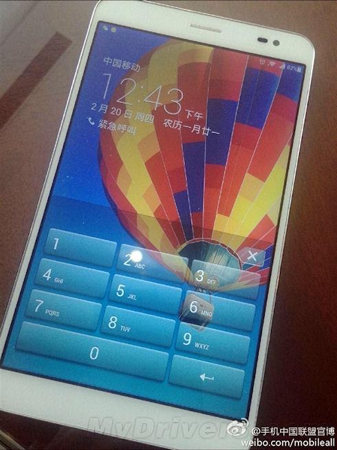 Фотографии и конфигурация Huawei Mediapad X1