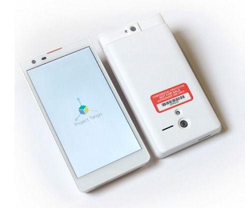 Google создала смартфон с системой 3D-сканирования