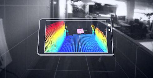 Google создала смартфон с системой 3D сканирования
