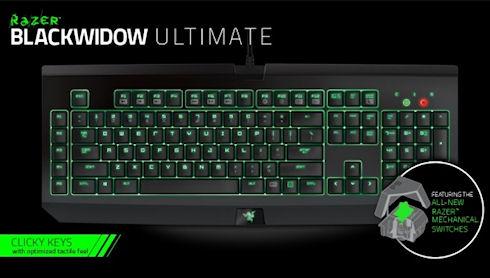 Razer разработала механическую клавиатуру для геймеров