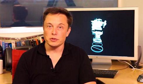 Элон Маск продемонстрировал создание деталей в стиле Железного человека