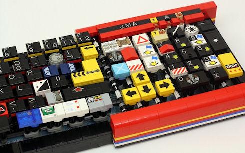 Lego-клавиатура для игр и работы