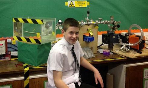 В Великобритании 13-летний школьник собрал свой первый «ядерный реактор»