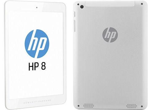 Новый планшет Hewlett-Packard 8 1401 по цене 170 долларов