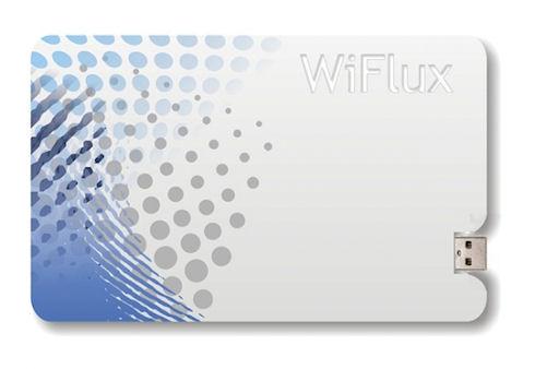WiFlux – зарядка для смартфона размером с кредитку