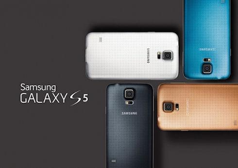 Красота и блеск Galaxy S5
