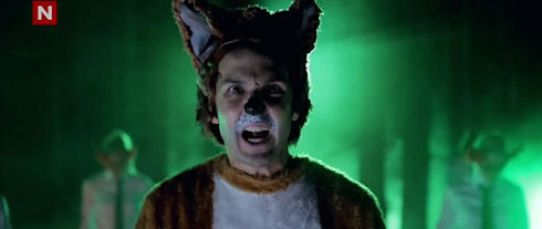 Видео The Fox: 16 млн за неделю на YouTube