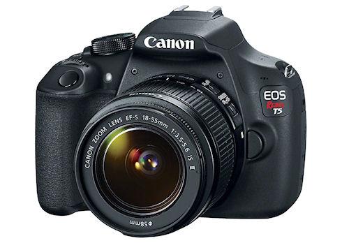 Новые фотокамеры Canon: бюджетная зеркалка и мощный компакт