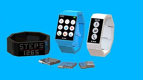 Blocks – «умные» модульные часы