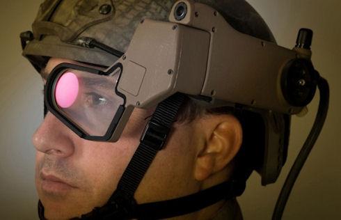Q Warrior – армейские очки дополненной реальности