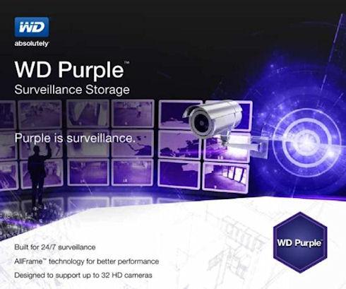 Western Digital выпустит новую серию жестких дисков Purple