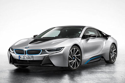 BMW i8 – встречайте мощный гибрид из Баварии