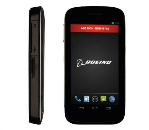 Boeing Black – модульный смартфон с аппаратным шифрованием данных