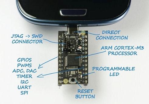 USB2Go – плата управления для Android гаджетов