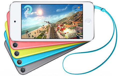Apple поработала над цветовой гаммой iPod