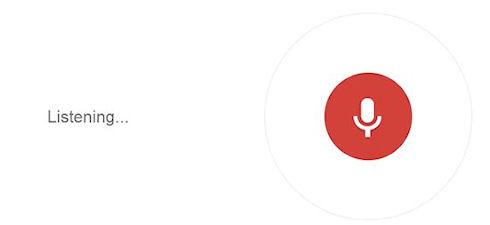 Голосовой поиск будет включен в Chrome по умолчанию