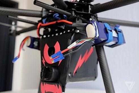 «Купидон» - заботливый дрон с защитой в 80000 вольт