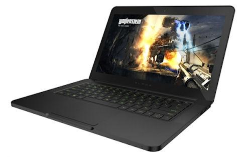 Заряженный игровой ноутбук Razer Blade