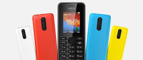 Nokia 108 – камерофон за 29 долларов