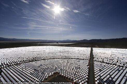 Солнечная электростанция Айванпа слепит пилотов и убивает птиц