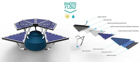 PhotoFlow – генератор электричества и сборщик питьевой воды