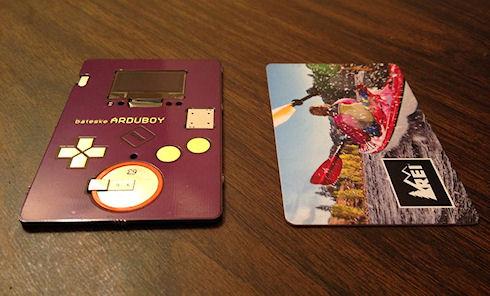 ARDUBOY – визитка для игры в Тетрис