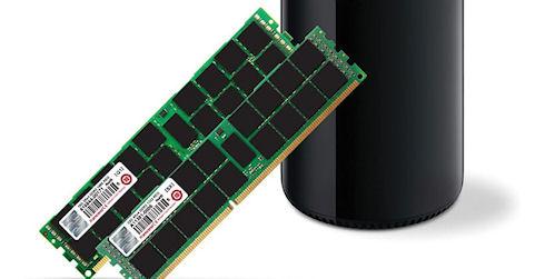Transcend выпустит модули памяти для установки в Mac Pro