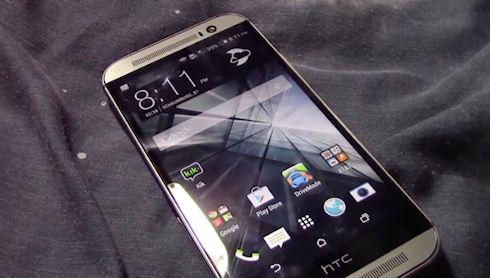 В Сети опубликовано видео нового смартфона HTC One M8