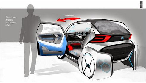 BMW рассказала об автоматических автомобилях будущего
