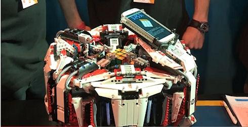 Cubestormer 3 собрал Кубик Рубика за 3,253 секунды