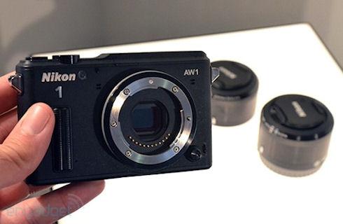 Nikon AW1 – новая камера с объективами для подводной съемки