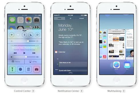iOS 7 – яркая, новая, разная!