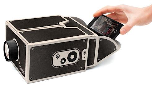 Smartphone Projector – 12-долларовый проектор для смартфонов
