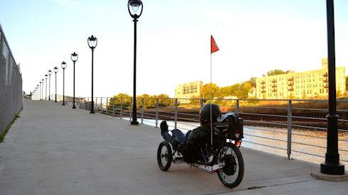 Электровелосипед Odyssey без ограничения максимальной скорости