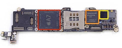 iFixit поставили 6 баллов за ремонтопригодность iPhone 5S