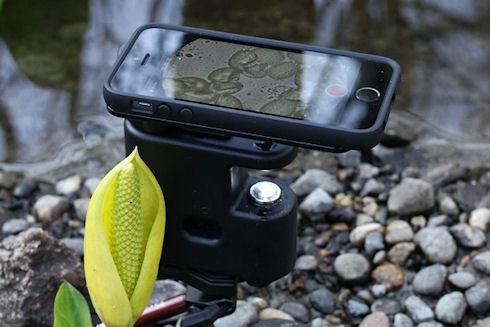 MicrobeScope – микроскоп 800x из iPhone