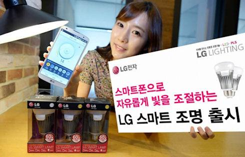 «Умная» лампочка Smart Lamp от LG