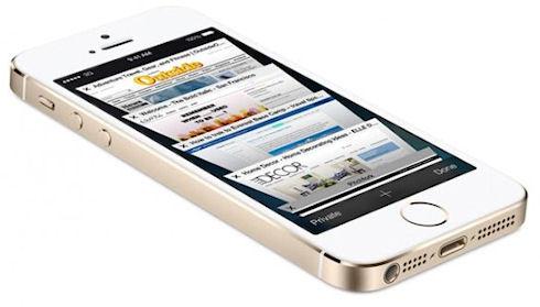 Apple рассказала о популярности «золотых» iPhone 5S