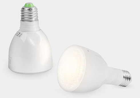 Лампочка-фонарик – экономит и светит
