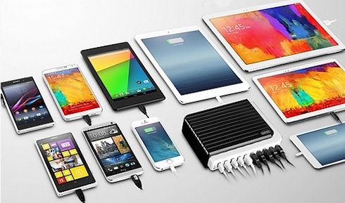 Unitek 10 Port USB Charger – мультизарядка для смартфонов