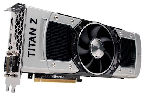 GeForce GTX Titan Z – новая сверхмощная видеокарта NVidia