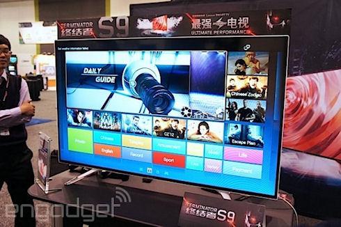 SmartTV Lenovo Terminator S9 – «умный» телевизор на ОС Android
