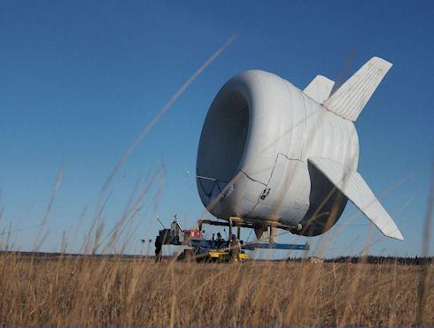 В США испытан первый летающий ветрогенератор