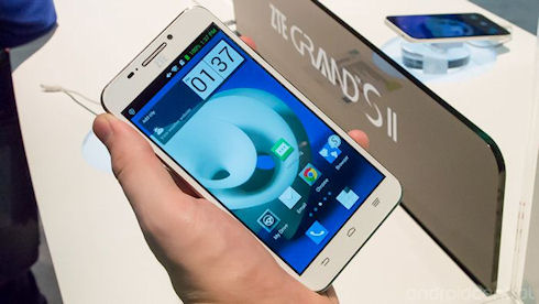 Смартфон Grand S II от ZTE может получить 4 ГБ оперативной памяти