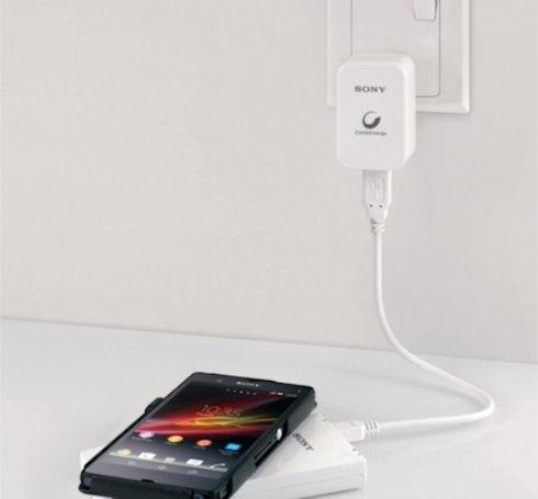 Sony CP-W5 – беспроводное зарядное устройство со встроенным аккумулятором