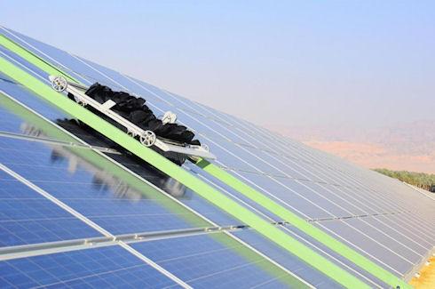 Роботы Eccopia автоматизируют процесс очистки солнечных панелей