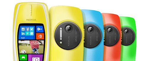 Nokia 3310 с Windows Phone 8 и камерой 41 Мп